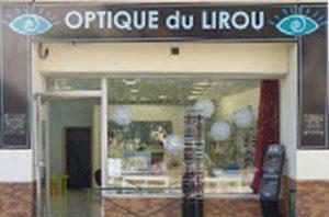 Photo de la façade de l'Optique du Lirou